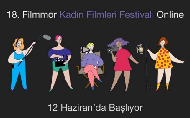 18. Uluslararası Gezici Filmmor Kadın Filmleri Festivali 12 Haziran'da Başlıyor