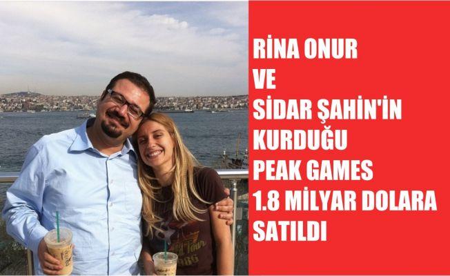 Sidar Şahin ve Rina Onur Şirinoğlu'nun Kurduğu Peak Games, 1.8 Milyar Dolara Satıldı