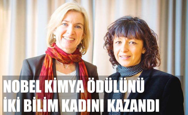 Nobel Kimya Ödülü'nü İki Bilim Kadını Kazandı