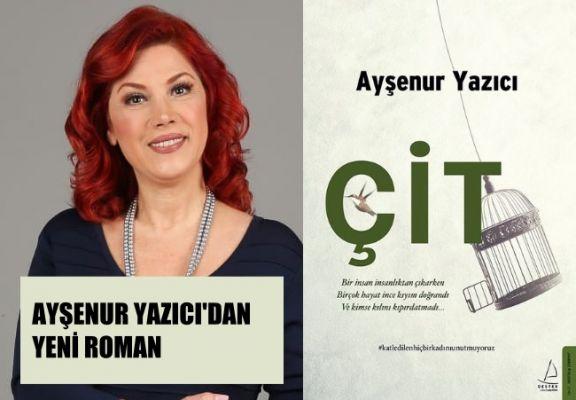 """Ayşenur Yazıcı'dan Bir Kadın Cinayetinin Romanı, """"Çit"""""""