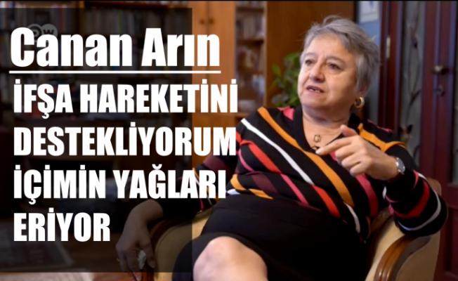 """Feminist Avukat Canan Arın, """"İfşa Hareketine Bayılıyorum İçimin Yağları Eriyor"""""""