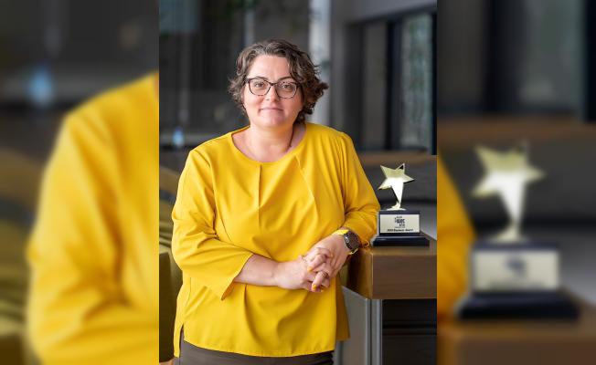 """IWEC """"Yılın Kadın Girişimcisi"""" Ödülü Dr. Aslı Zuluğ'un"""