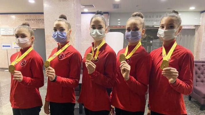 Kadın Ritmik Cimnastik Grup Milli Takımı Avrupa şampiyonu oldu