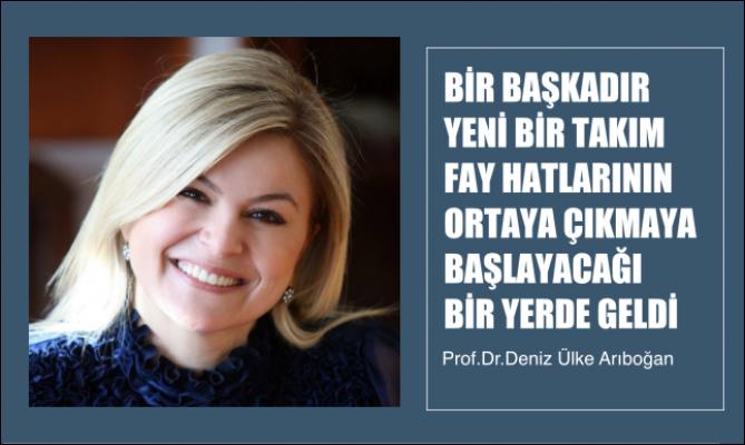 """Prof. Dr. Arıboğan: """"Bir Başkadır, Yeni Fay Hatlarının Çıkmaya Başlayacağı Bir Yerde Geldi"""""""