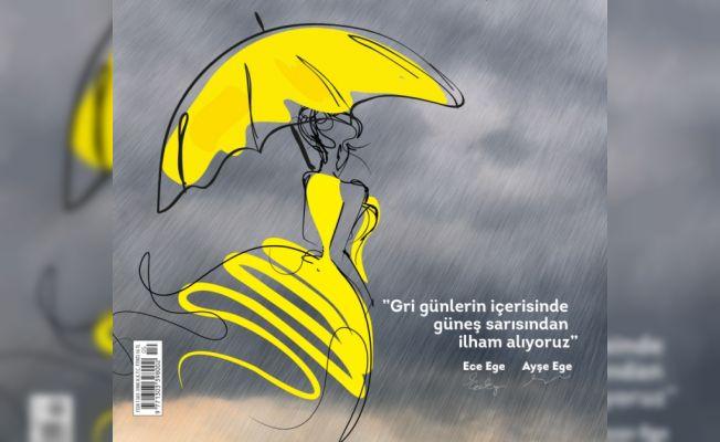 Dice Kayek'ten Gri Günlerde Sarı Bir Umut Yeşilay Dergisi'nin Kapağında