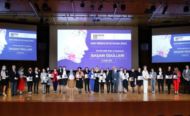 Kadın Girişimcileri Destekleme Zirvesi Ödülleri Belli Oldu