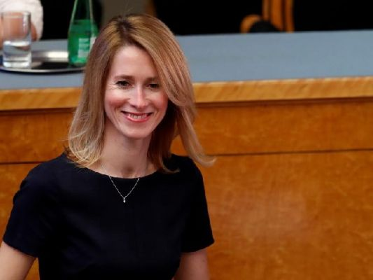 Estonya'nın ilk kadın Başbakanı Kaja Kallas oldu