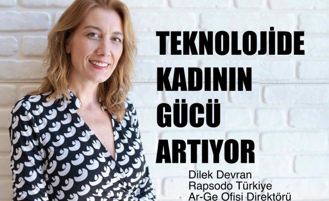 """Rapsodo Türkiye Ar-Ge Ofisi Direktörü Dilek Devran, """"Teknoloji dünyasında kadının gücü artıyor"""""""