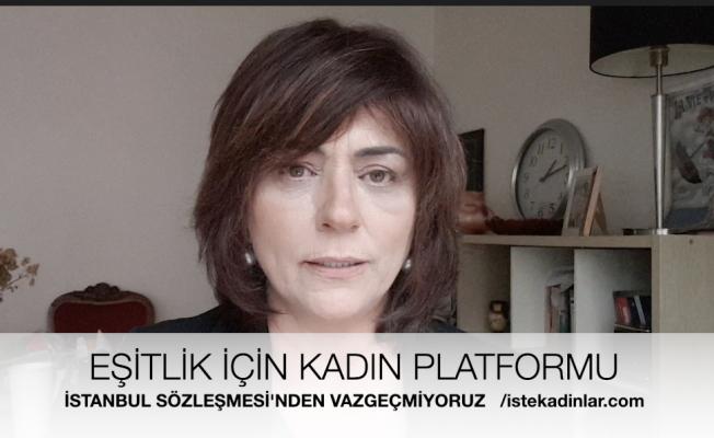 """EŞİK ;""""Cumhurbaşkanlığı'nın İstanbul Sözleşmesi Yok Hükmündedir, Sözleşme Yürürlüktedir"""""""