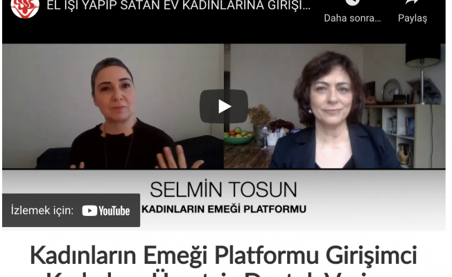 Kadınların Emeği Platformu, Kendi İşini Kuran Kadınlara Ücretsiz Destek Veriyor