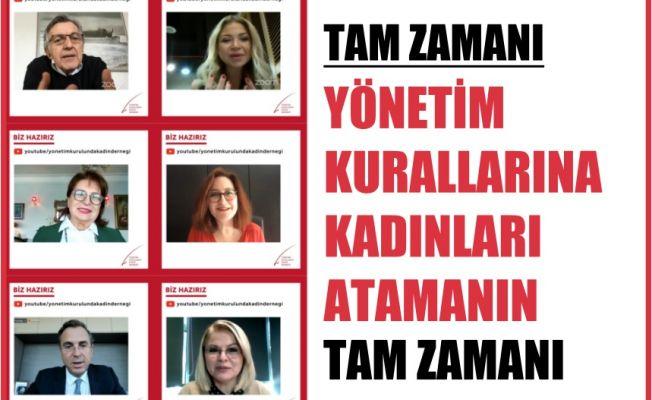 Yönetim Kurullarına Kadınları Atamanın Tam Zamanı!