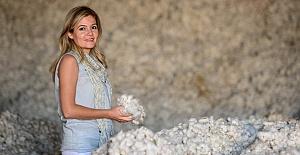 Nur Beğen, Türkiye'nin ilk organik anne bebek mağazasını açtı