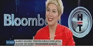 """Leyla Alaton """"Yüzde 100 Yerli Alvimedica 71 ülkede olan bir dünya markası"""""""