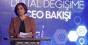 """TÜSİAD Başkanı Cansen Başaran Symes;""""Ezberbozan inovasyon için dijital değişim şart"""""""