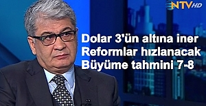 """Ertem """"Süreç tahribat yaratmadan atlatıldı, dolar 3'ün altına iner"""""""