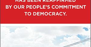 Sabancı'dan dünyaya demokrasi mesajı
