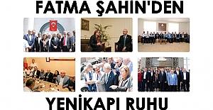 Fatma Şahin, taziyeye giden Kılıçdaroğlu'nu karşıladı, birlikte dua etti