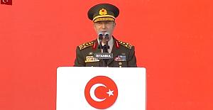 """Genelkurmay Başkanı Hulusi Akar;""""TSK milletimizin emrinde, görevinin başındadır"""""""