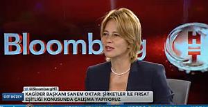 """Sanem Oktar;""""Kamu ihalelerinde kadın tedarikçiye yer verilmesi için Bakanlıkla görüşüyoruz"""""""