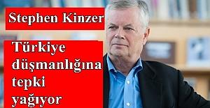 Stephen Kinzer'in Türkiye düşmanlığına tepki yağıyor
