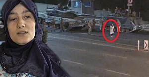 """Tanklara karşı duran kahraman Safiye Bayat,""""Silahı yanağıma doğrulttu havaya ateş açtı"""""""
