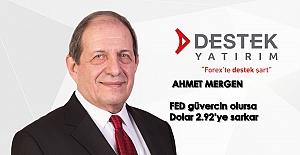 "Ahmet Mergen: ""FED güvercin olursa..."