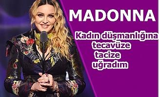 """Madonna; """"Kadın düşmanlığına, tecavüze, tacize uğradım"""""""