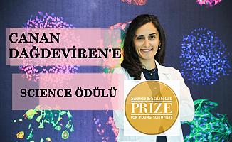 Türk bilim insanı Canan Dağdeviren Science&SciLifeLab Odülü'nü kazandı