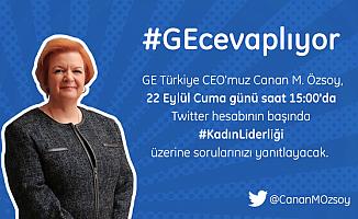 Sen sor GE Türkiye CEO'su Canan Özsoy cevaplasın