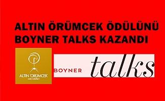 Boyner Talk, Altın Örümcek En İyi Kurumsal Blog ödülünü kazandı