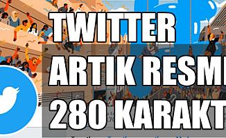 Twitter'ın 280 karakter uygulaması artık herkes için geçerli