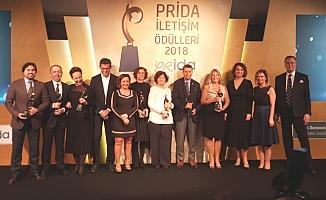 Prida İletişim Ödülleri ilk sahipleriyle buluştu