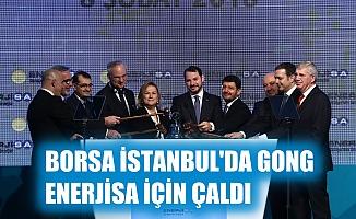 Borsa İstanbul'da gong Enerjisa için çaldı