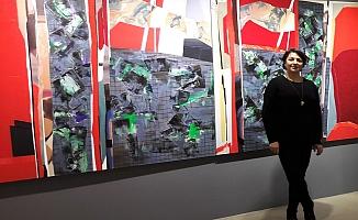 Zeynep Dilek  ve Mehmet Çetiner çiftinin Özet'i Galeri Diani'de