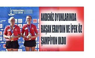 Akdeniz Oyunları'nda Türk Kadın Tenisçiler Şampiyon Oldu