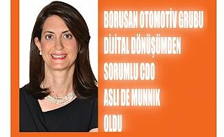 Borusan Otomotiv'de Dijital Dönüşüm CDO'su Aslı de Munnink oldu