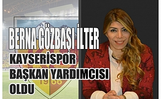 Kayserispor'un ilk kadın başkan yardımcısı Berna Gözbaşı İlter oldu