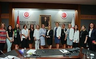 Ticaret Bakanı Ruhsar Pekcan KAGİDER ile buluştu.