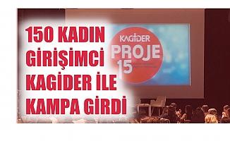 KAGİDER kampında 150 kadın girişimci eğitim aldı