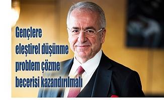 """TÜSİAD Başkanı Erol Bilecik: """"Gençlere eleştirel düşünme, problem çözme becerisi kazandırılmalı"""""""