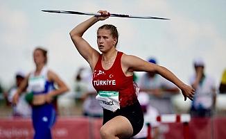 Münevver Hancı, Arjantin'de bronz madalya kazandı