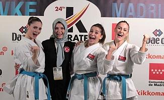 Türkiye Kadın Kata Milli Takımı üst üste 2'nci kez dünya 3'üncüsü oldu