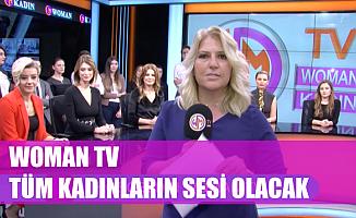 """Woman TV Genel Yayın Yönetmeni Ahu Özyurt """"Woman TV kadınların sesi olacak"""""""