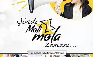 Etel Kazado Temurcan ve Zeynep Konan'dan şirketlere özel atölye;  Motimola