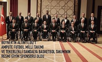 Boyner'in Altınyıldız'ı Ampute Futbol Milli Takımı ve Tekerlekli Sandalye Basketbol Takımı'nın resmi giyim sponsoru