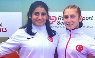 Kadın sporcularımız Eda Yıldırım ve Muhsine Gezer dünya şampiyonu oldu