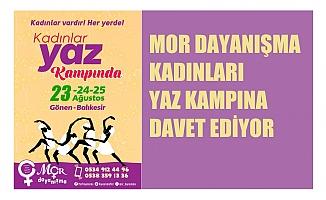Mor Dayanışma, tüm kadınları Yaz Kampı'na bekliyor