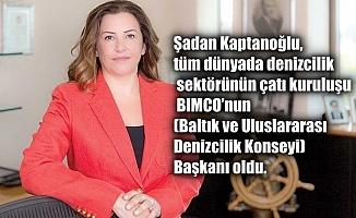 BİMCO'nun İlk Kadın Başkanı Şadan Kaptanoğlu oldu