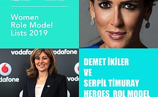 """Demet İkiler ve Serpil Timuray, """"HERoes Kadın Rol Model Yöneticiler"""" listesinde yer aldı"""