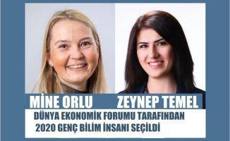 Dünya Ekonomik Forumu, Mine Orlu ve Zeynep Temel'i, Genç Bilim İnsanı Olarak Seçti